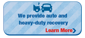 We provide auto and heavy-duty recovery | Learn More