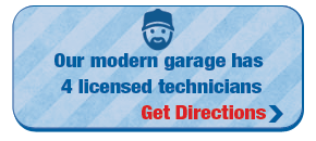 Our modern garage has 4 licensed technicians | Get Directions